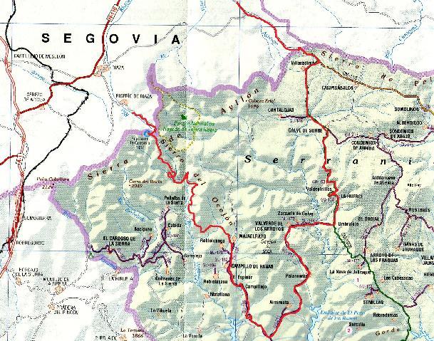 Espectacular etapa de la Vuelta a Espaa en la sierra norte de