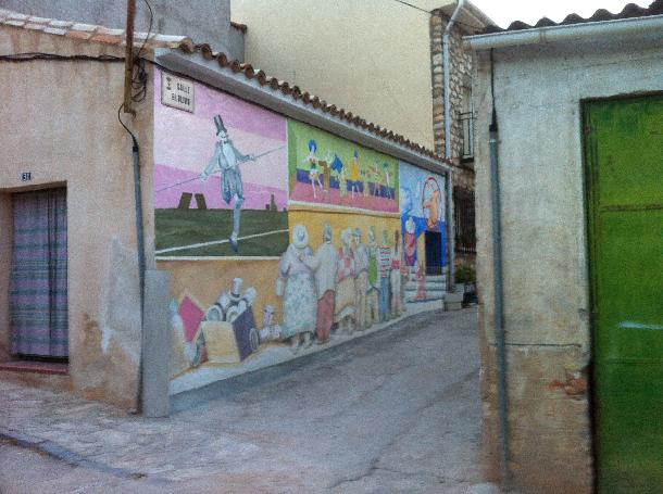 Nuevo mural de escariche for El mural guadalajara avisos de ocasion
