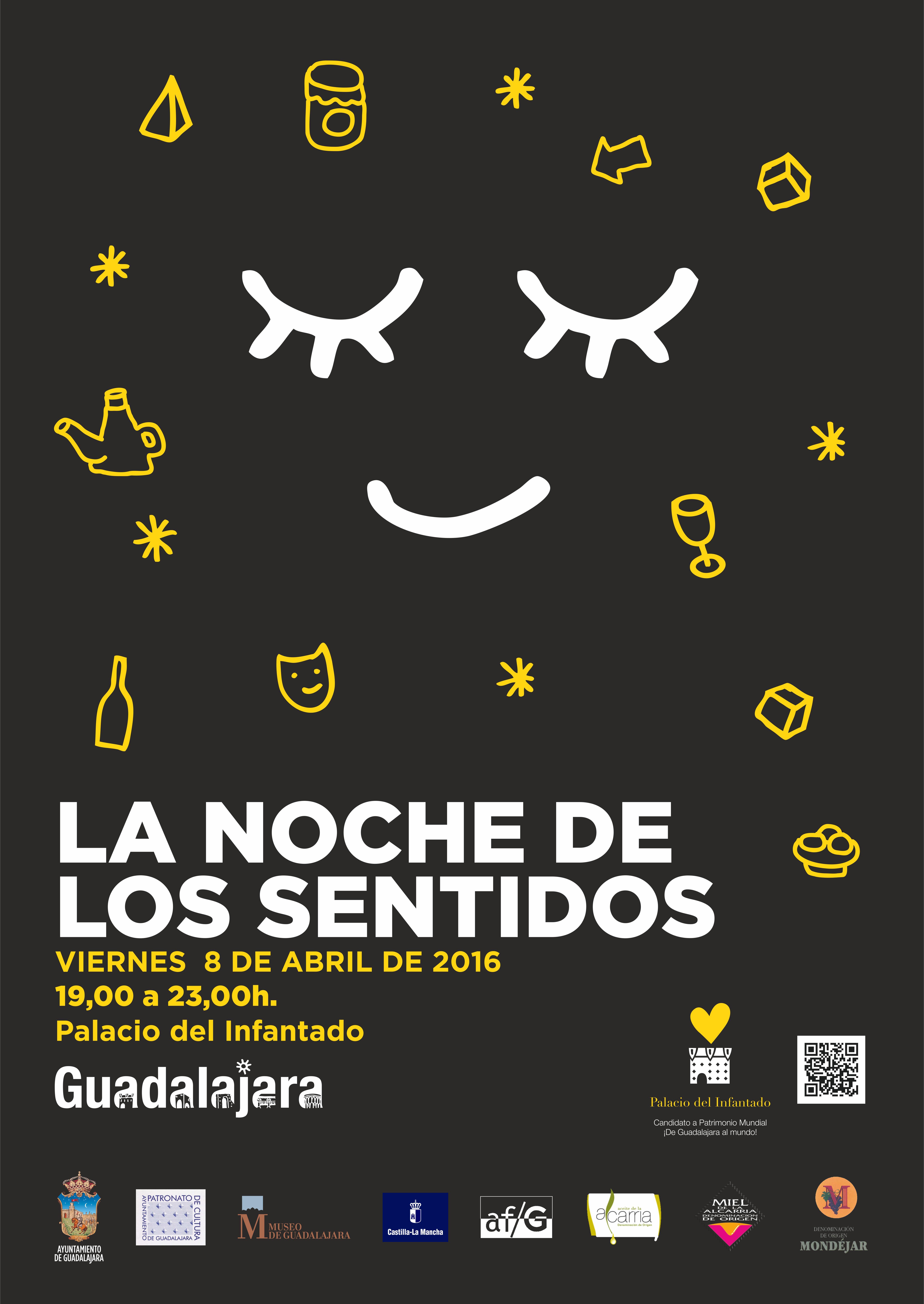 Viernes la noche de los sentidos en el el infantado for El mural aviso de ocasion guadalajara