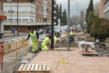 calle siguenza obras