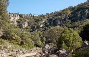 Rutas: El otro barranco de la hoz en Viana de Jadraque
