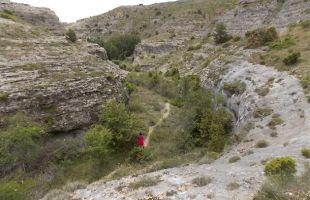 Por el barranco de Borbocid hasta el Alto del Portillo