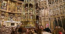 Procesión del Corpus en Toledo con la custodia restaurada