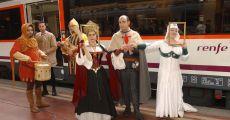 El Tren medieval regresa en otoño a Sigüenza